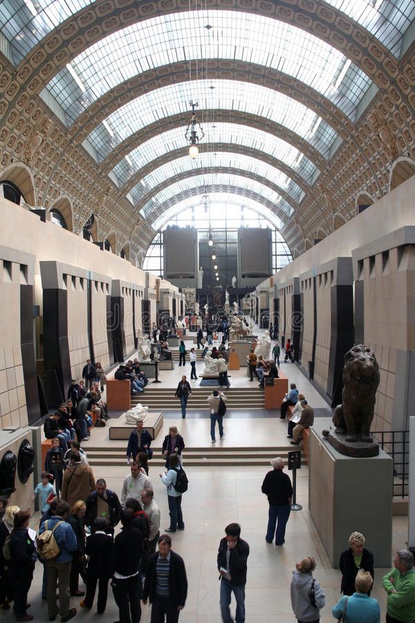 Museum D Orsay Editorial Photography