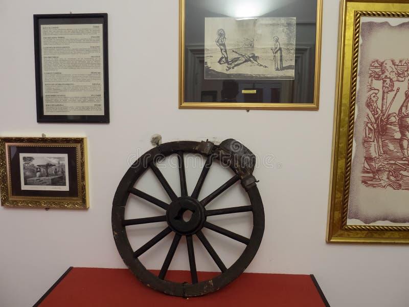 Museum der Folterung, Prag lizenzfreie stockfotografie