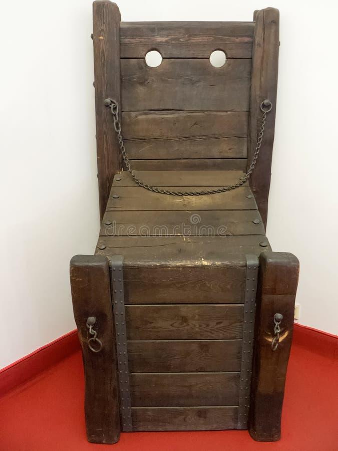 Museum der Folterung, Prag lizenzfreie stockfotos