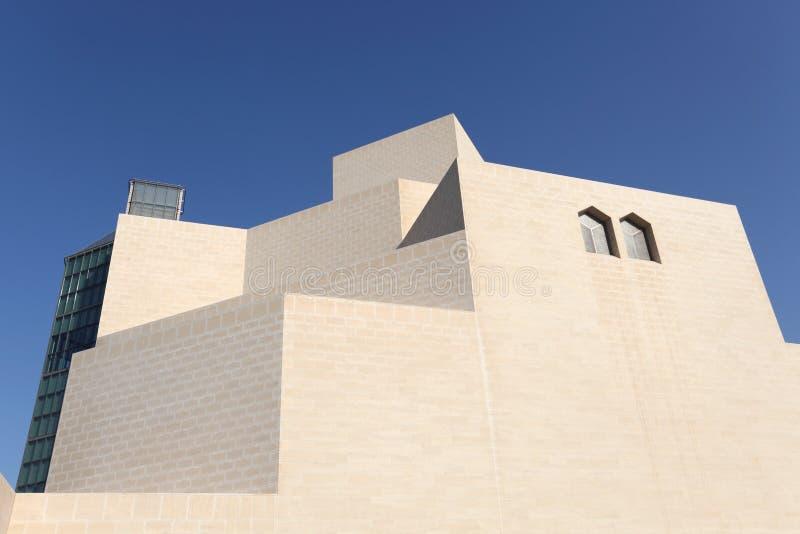 Museum der islamischen Kunst in Doha stockfoto