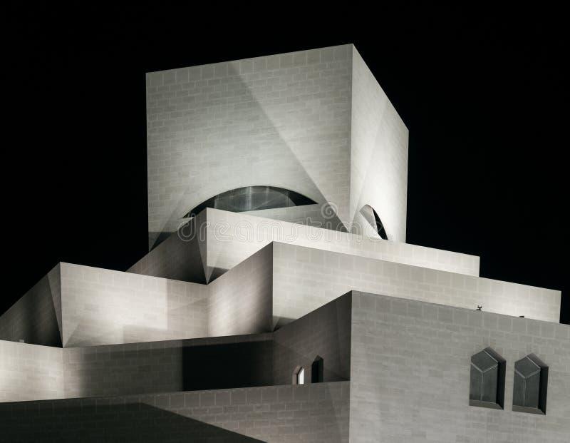 Museum der islamischen Kunst in Doha Qatar lizenzfreies stockbild