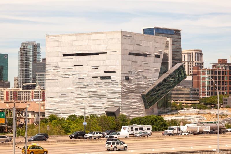 Museum der Natur und der Wissenschaft in Dallas, TX, USA lizenzfreie stockfotos
