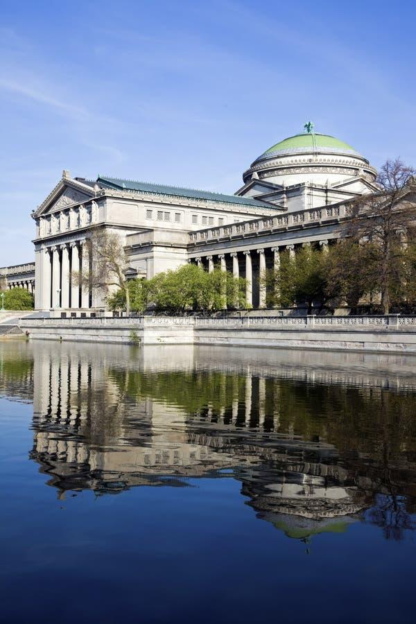 Museum der Wissenschaft und der Industrie lizenzfreie stockfotografie