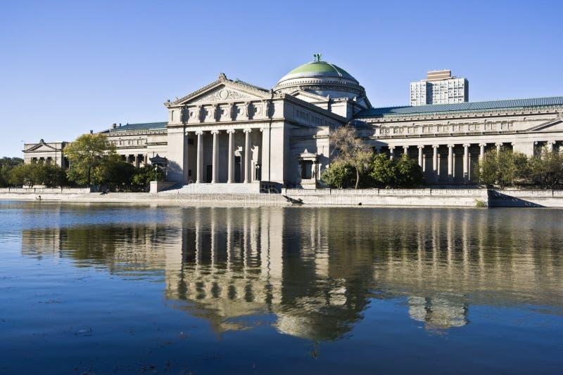 Museum der Wissenschaft und der Industrie stockbild