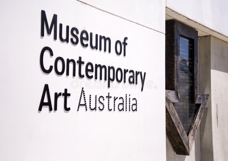 Museum der zeitgenössischer Kunst in Sydney, Australien lizenzfreies stockfoto