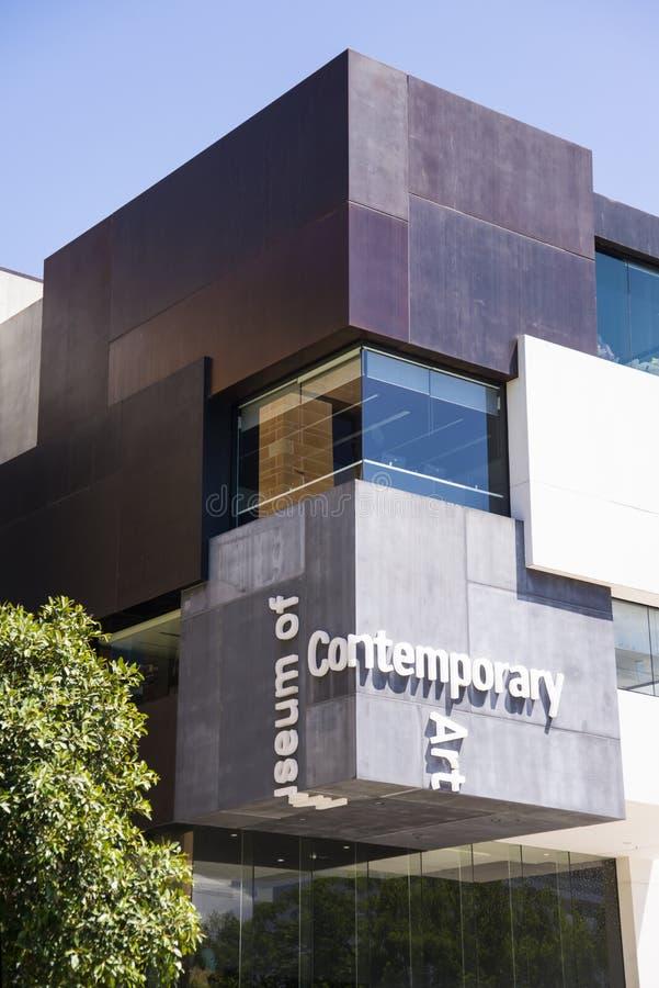 Museum der zeitgenössischer Kunst in Sydney, Australien lizenzfreies stockbild