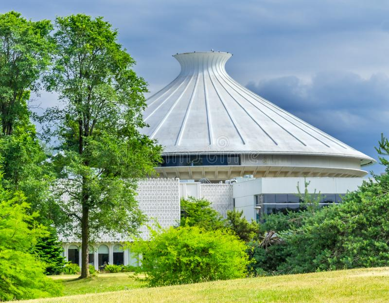 Museum des Park-Britisch-Columbia Kanada Vancouvers Vanier stockfotos
