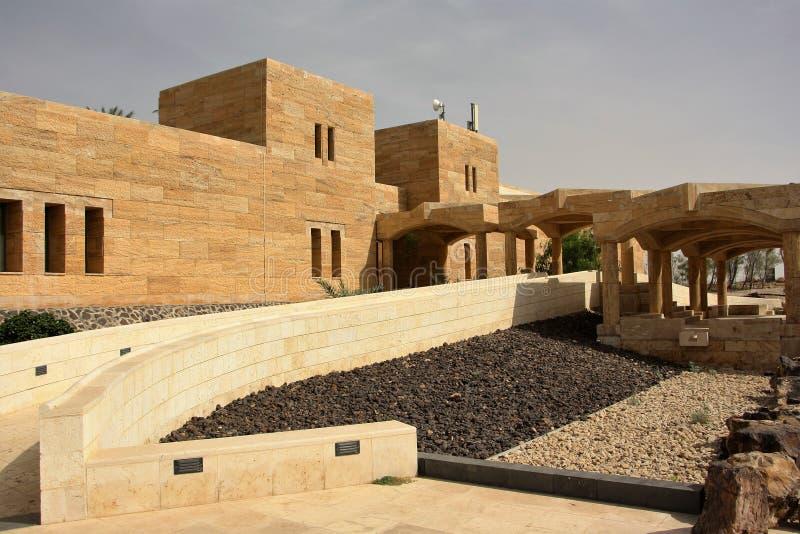 Museum des Toten Meers in Jordanien lizenzfreies stockfoto