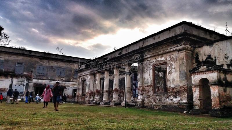 Museum. Dutch heritage buildings that exist in Indonesia is located in the district ngawi stock images