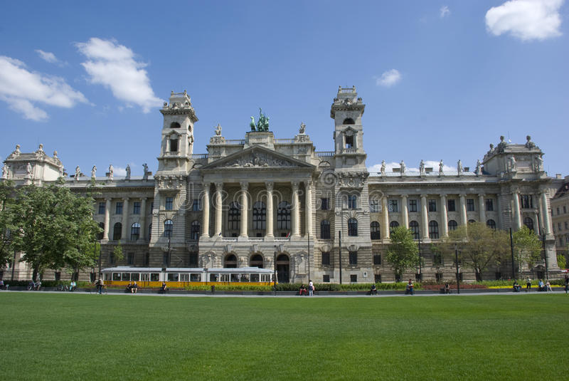 Museum för etnologi, Budapest royaltyfri bild