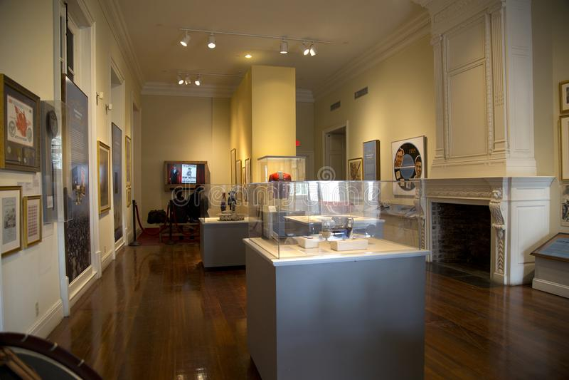 Museum för folkbesökLouisiana stat i New Orleans royaltyfria bilder