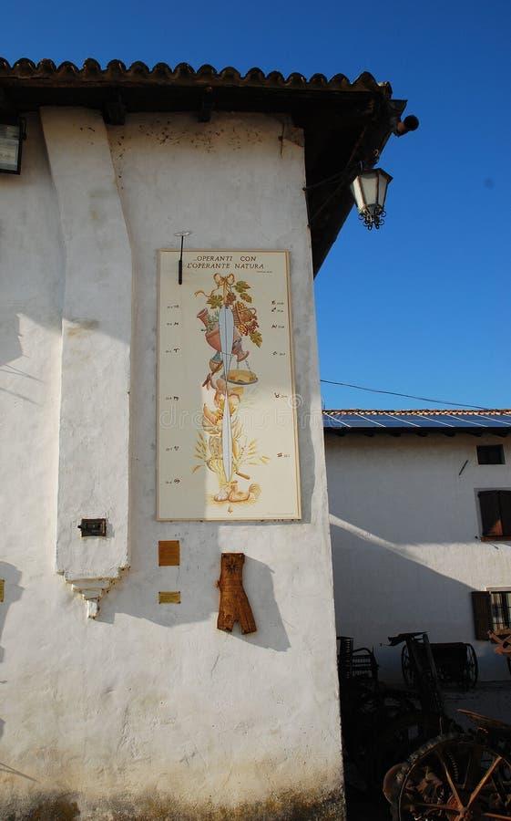 Museum för Friulian lantbrukkultur arkivbilder