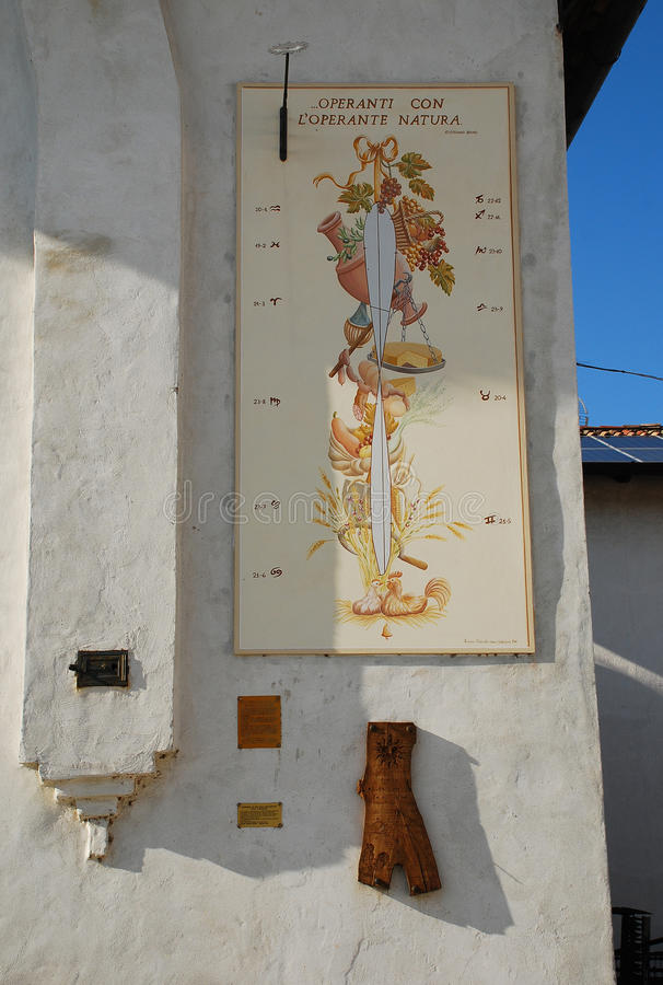 Museum för Friulian lantbrukkultur royaltyfria foton