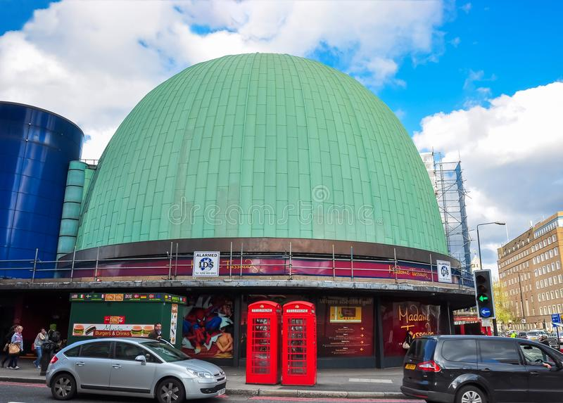 Museum för madam Tussauds i London, UK royaltyfri fotografi