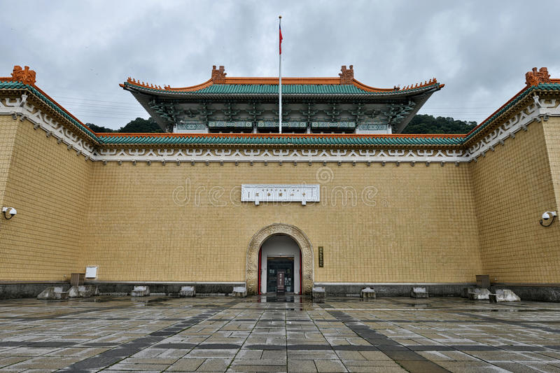 Museum för nationell slott, Taipei arkivfoto