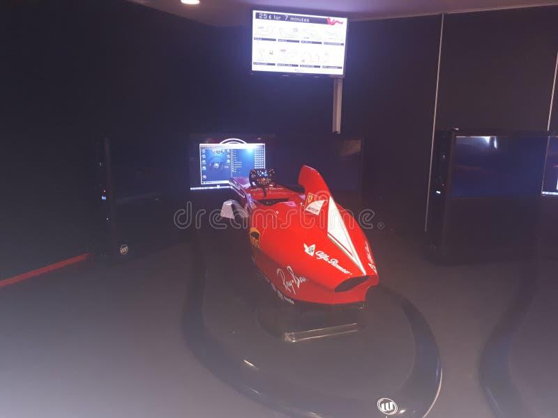 Museum Ferrari Maranello 2018 lizenzfreie stockbilder