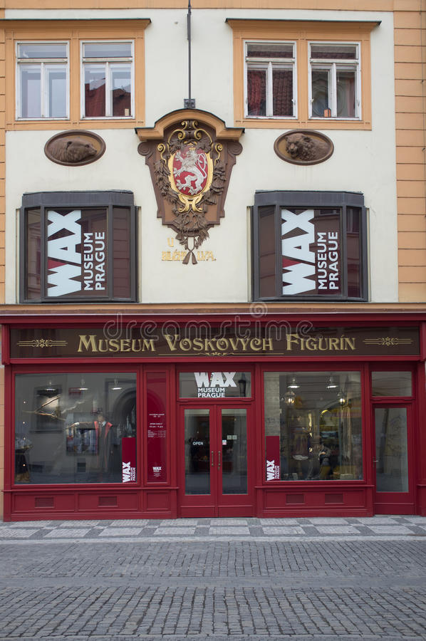Download WAX museum in Prague editorial stock image. Image of miniature - 30130934