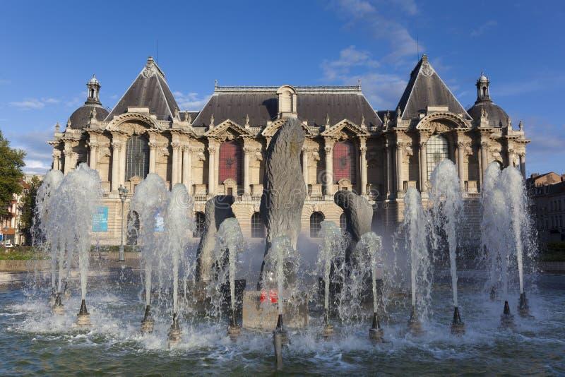 Museum of Fine Arts of Lille. Nord, Nord-Pas-de-Calais, France stock photos