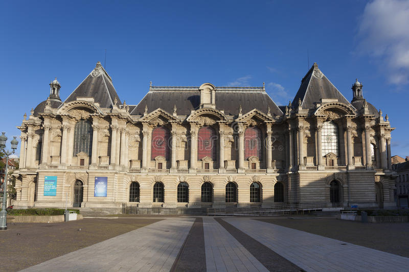 Museum of Fine Arts of Lille. Nord, Nord-Pas-de-Calais, France stock photography