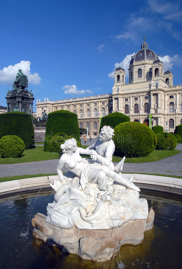 Museum of Fine Arts - Vienna royalty free stock photo