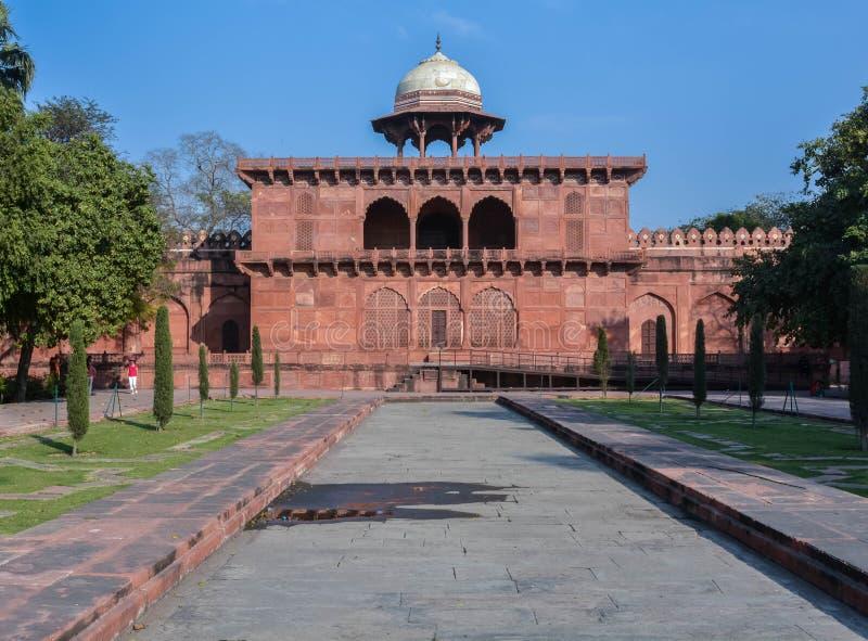 Museum & Galerij Taj Mahal stock foto's