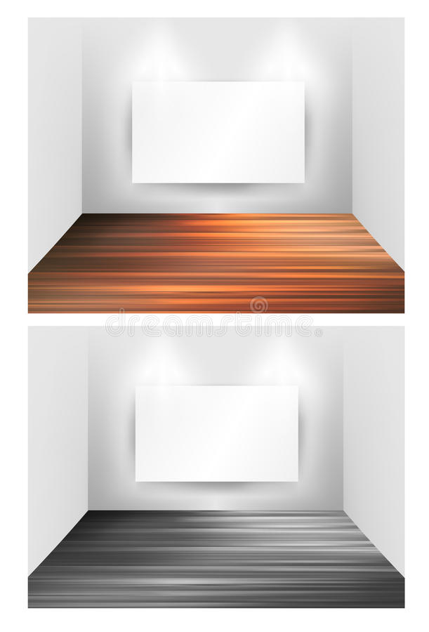 Download Museum Gallery Interior Frames Stock Vector - Image: 24313601