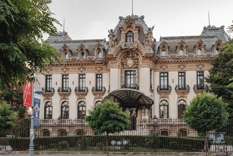 Museum George-Enescu in Bucharest, Rumänien lizenzfreies stockbild