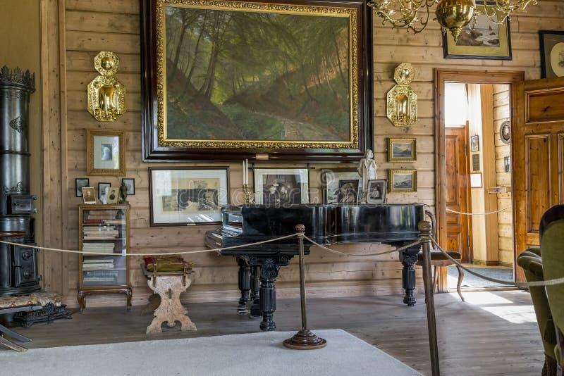 Museum-gods av Edvard Grieg arkivbild