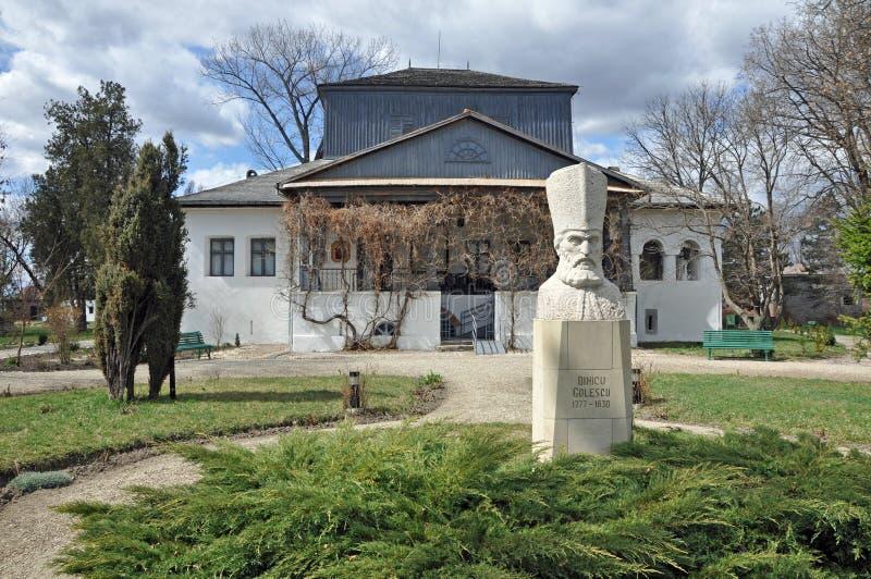 Museum Golesti stock foto