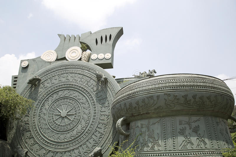 Museum of Guangxi. The Museum of Guangxi Zhuang Autonomous Region , it is in Nanning city, China stock photos
