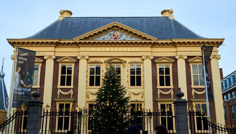 Museum Haag - Mauritshuis, Nederländerna arkivfoto