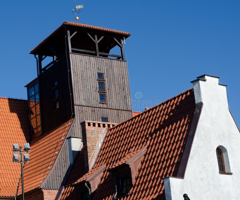 Museum in Hel, Poland stock photos