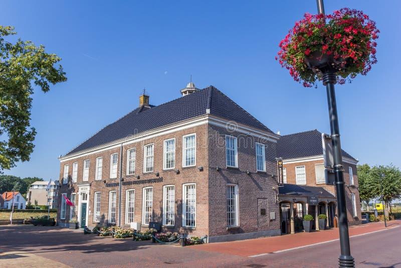 Museum in het centrum van Ommen stock foto