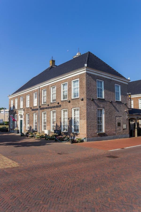 Museum in het centrum van Ommen royalty-vrije stock afbeeldingen