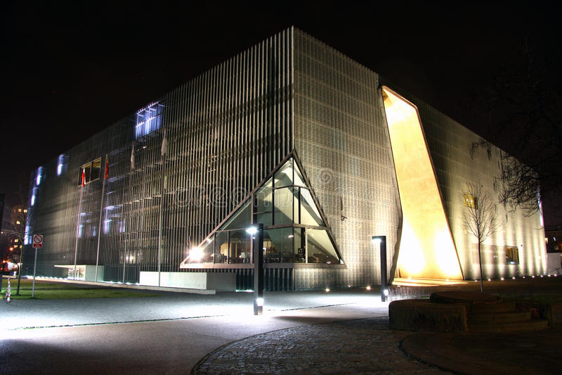 Download Museum Of The History Of Polish Jews In Warsaw (Po Editorial Stock Photo - Image: 36653193