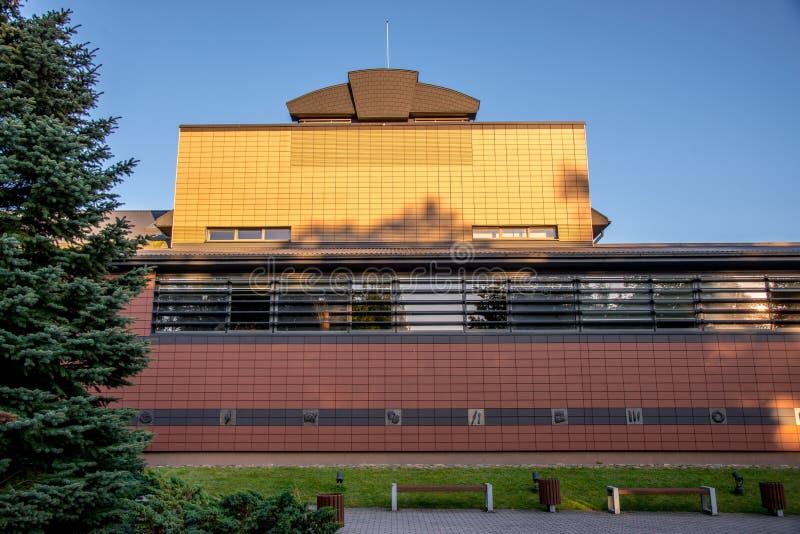 Museum i Kernave arkivbilder
