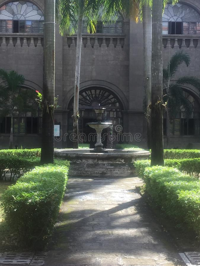Museum i Manila royaltyfri fotografi
