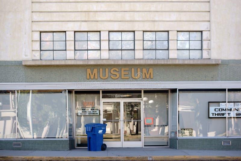Museum i visare arkivbild