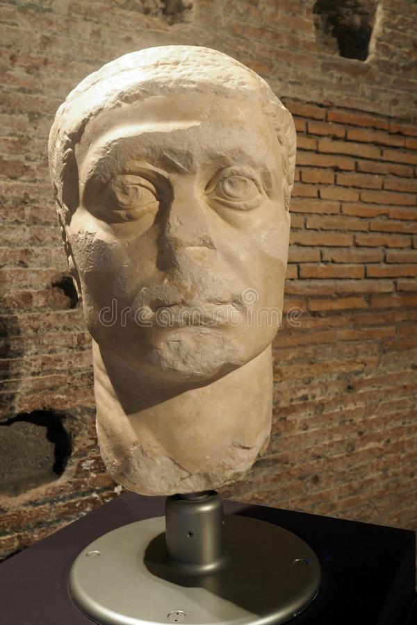 The Museum of Imperial Forums in Rome, Italy royalty free stock photography