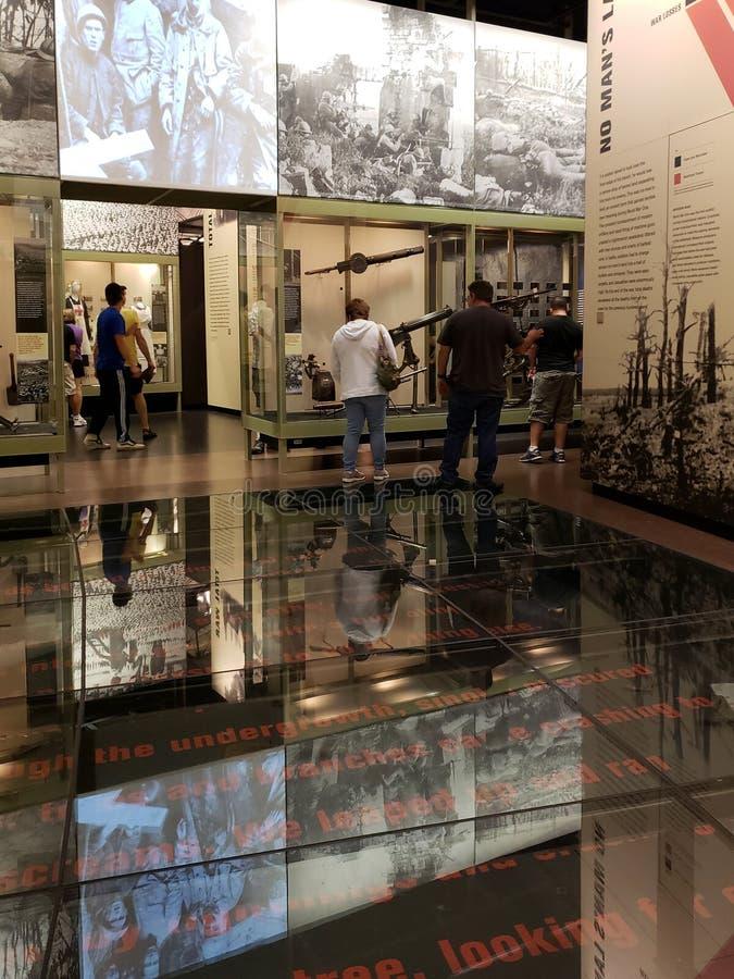 Museum inre Kansas Missouri USA för världskrig I royaltyfri foto