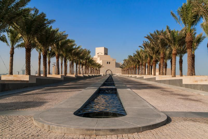 The Museum of Islamic Art, Doha, Qatar stock photos