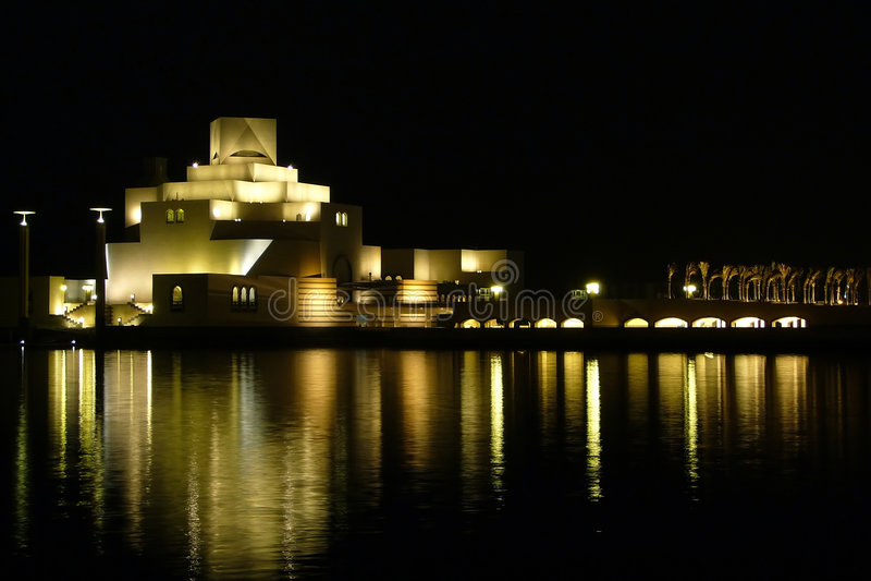 Museum of islamic arts, Doha, Qatar stock photos