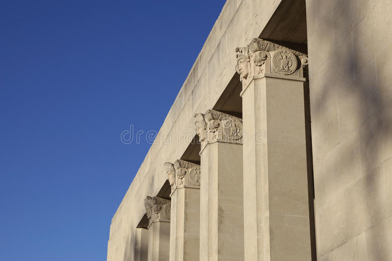 Museum in Jackson Mississippi royalty free stock photo