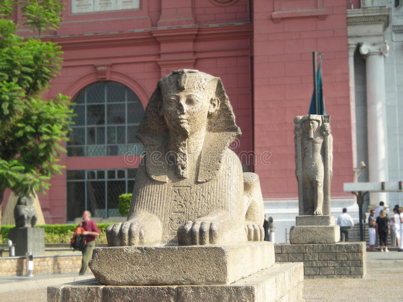 Museum in Kairo, Ägypten lizenzfreie stockfotografie