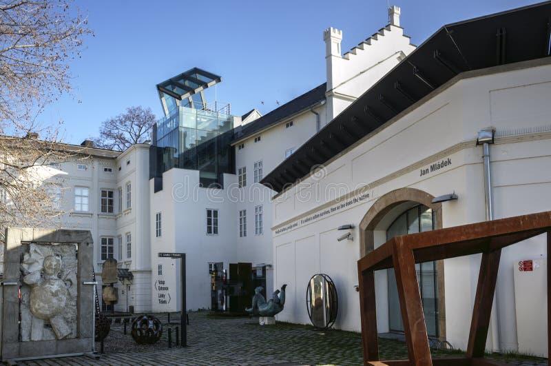 Museum Kampa - Prague, Czechia stock photo