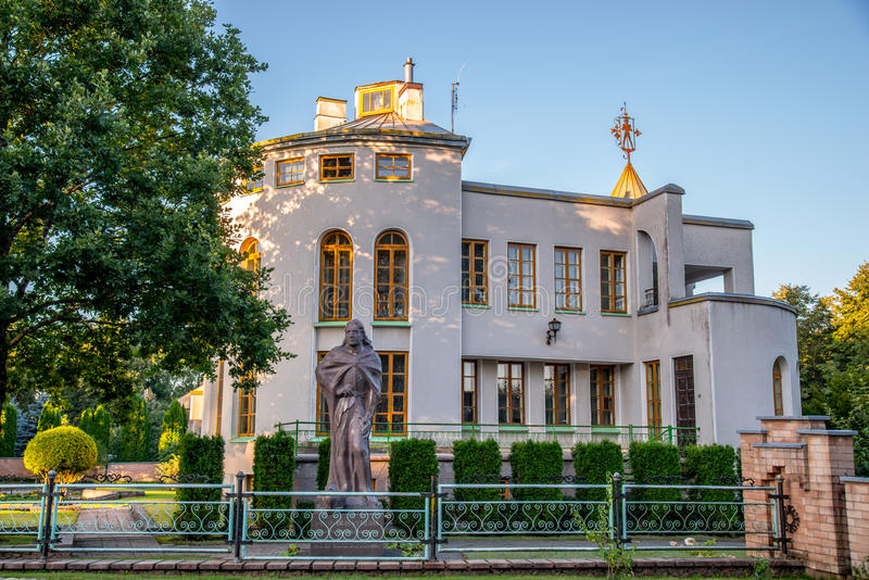 Museum in Kernave lizenzfreie stockfotos