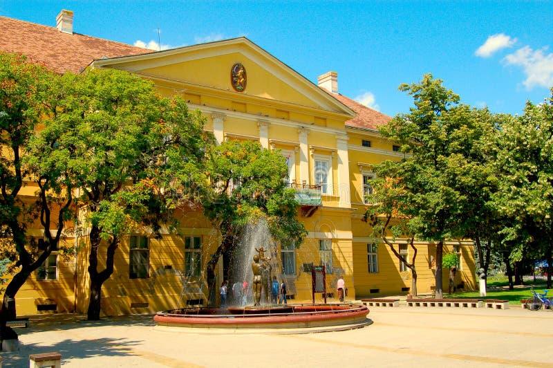 Museum in Kikinda royalty free stock photo