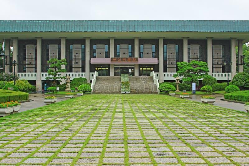 Museum Koreas Busan lizenzfreie stockfotografie