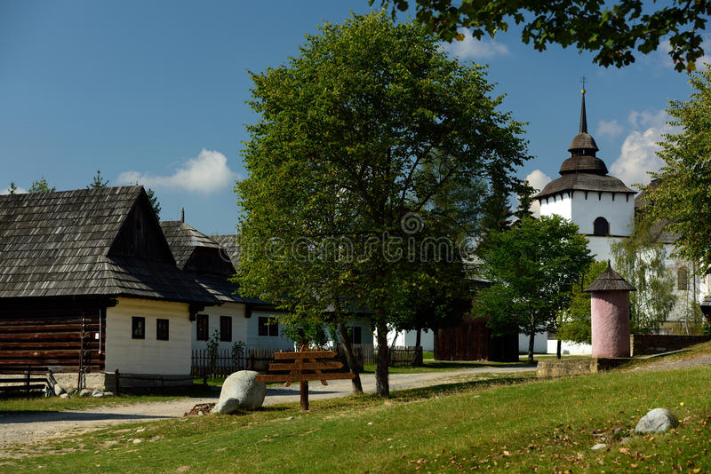 Museum of Liptov Village, Pribylina, Slovakia royalty free stock photography