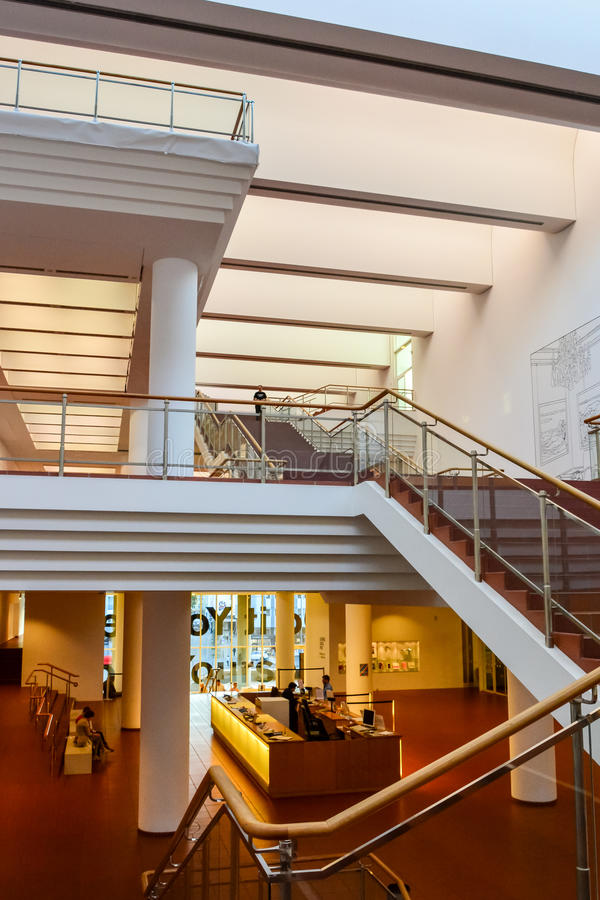 Free Museum Ludwig, Stairway And Entrance Hall Royalty Free Stock Photos - 46316018